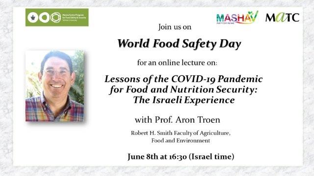 World Food Safety Day Event 2020
