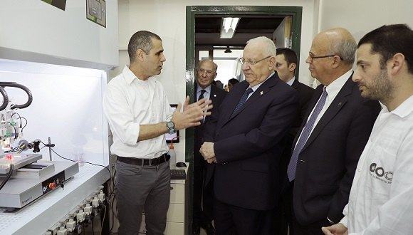 Tal Dvir and the President of Israel