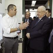 Tal Dvir and the President of Israel